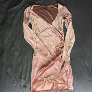 Velvet Pink H&M Party dress